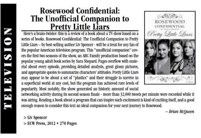 Review of ROSEWOOD CONFIDENTIAL in Scene Magazine!